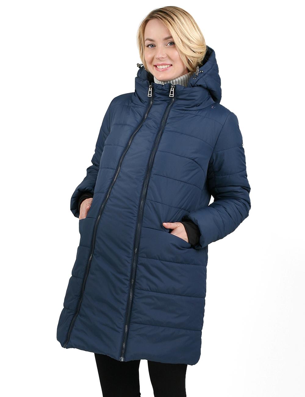 3edf3ee85a38 Фото Куртка зимняя 2в1 I love mum Малайзия синяя для беременных от магазина  Kidster