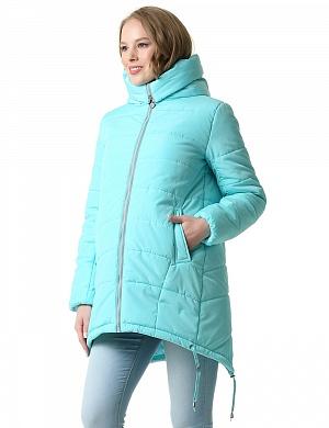 Куртка зимняя 2в1 I love mum Тулуза ментол для беременных от магазина  Kidster bba76042f6f